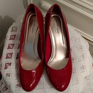 2e6563dc1 Predictions comfort plus red heels Sz 9.5
